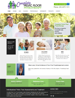 WordPress Web Design for Physiotherapist