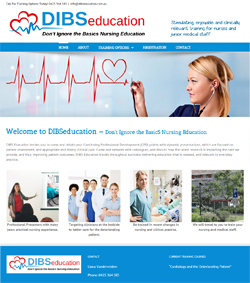 WordPress Web Design for Nurse