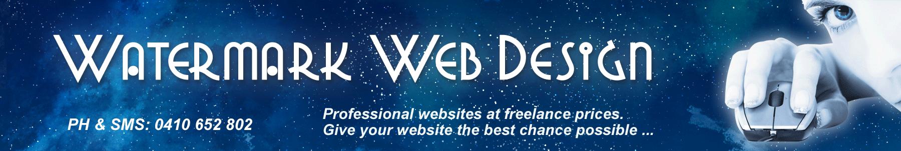 Watermark Web Design Logo