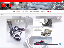 ArgoRace Car Parts Website