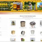 Beekeeping Equipment website design