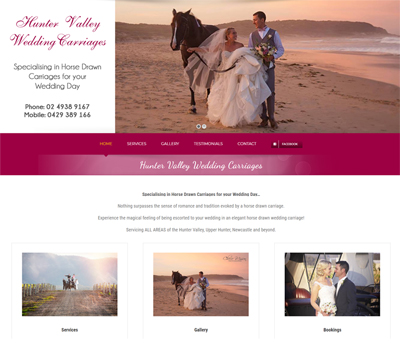 Hunter Valley Wedding Carriages