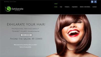 Exhilarate Hairdresser Maitland