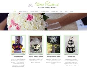 Renee Tuckers Wedding Flowers and cokes