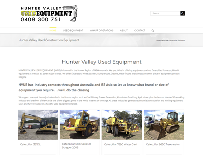 Hunter Valley Used Construction Equipment