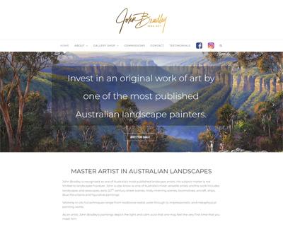 John Bradley Australian Landscape Artist